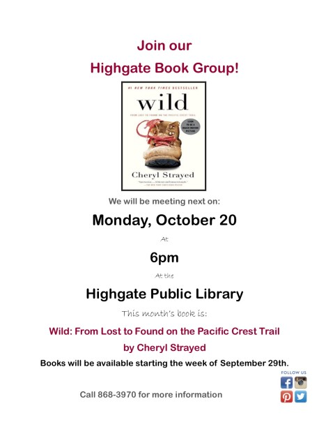 oct. book group