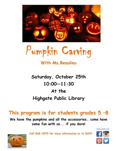 Teen Pumpkin carving