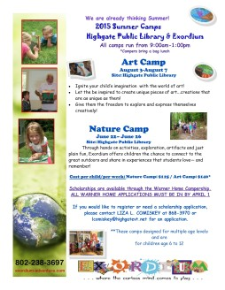 Library camps 2015