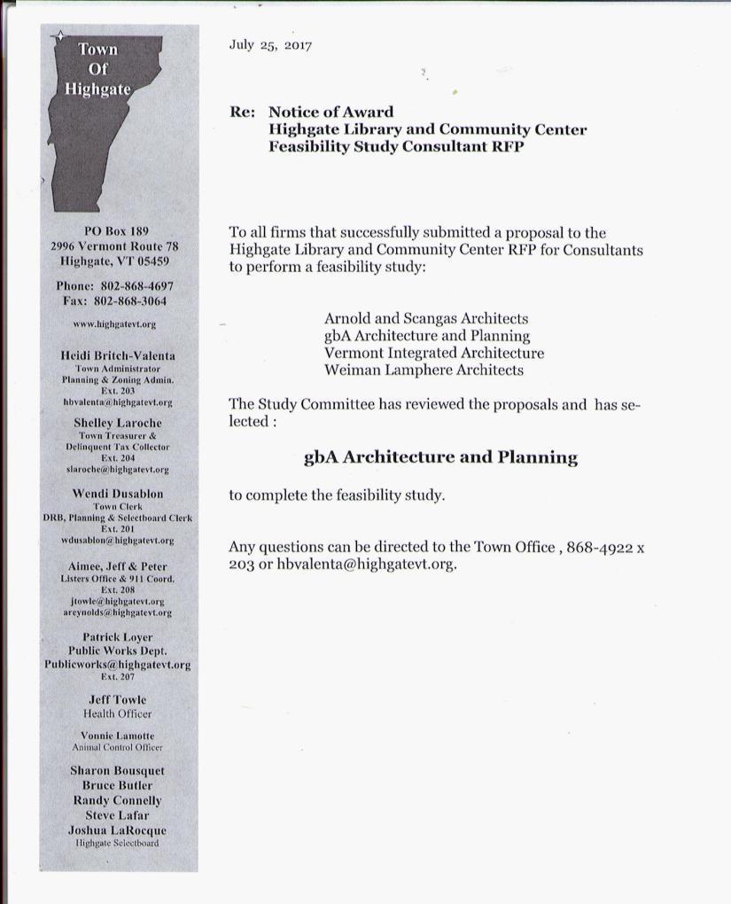rfp award
