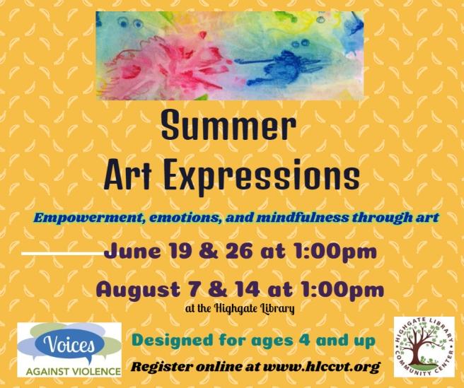summer art expressions